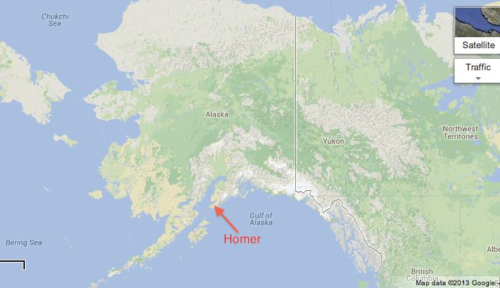 Homer Alaska Map Area.Robot Springboard Homer Alaska Robotspringboard